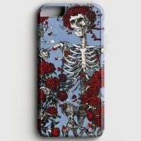 Grateful Dead Bones And Roses iPhone 7 Case