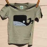 willerd the whale tshirt | magpie lovely