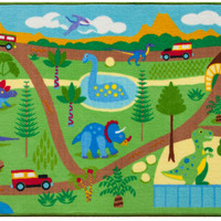 Olive Kids Dinosaur Land Play Rug - 697408
