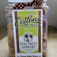 Peanut Butter Honey Dog Treats