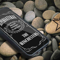 Supernatural the winchester iPhone Case, iPhone 4/4S, 5/5S, 5c, Samsung S3, S4 Case, Hard Plastic and Rubber Case By Dsign Star 08