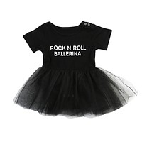Fashion Infant Baby Girls Clothes Tulle Rompers Short Sleeve Ruffles Cotton Cute Clothing Baby Girl Outfits Set