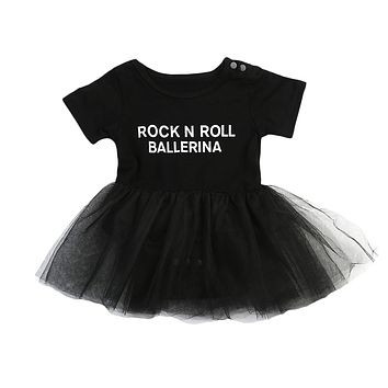 Rock N Roll Ballerina - Baby Kid Child Toddler Newborn Girl Dress