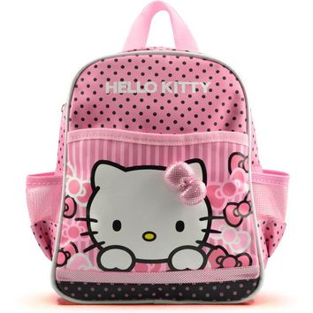 Toddler Backpack class Hello kitty cute backpack to school girls toddler schoolbags cartoon small bag kindergarten child kids small back pack AT_50_3