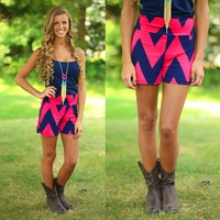 Sweetest Things Chevron Shorts