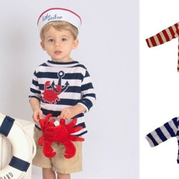 The Hamptons Baby & Toddler Nautical Tops-The Perfect Holiday Gifts-Many Designs