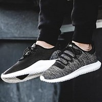 Adidas Tubular Shadow Breathable Couples Sports Running Shoes black