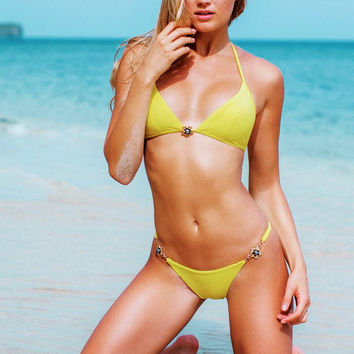 Sauvage Yellow Jewel Bikini