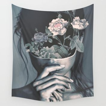 Petal Head Fabric Wall Tapestry