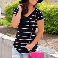 Just My Stripe Tee