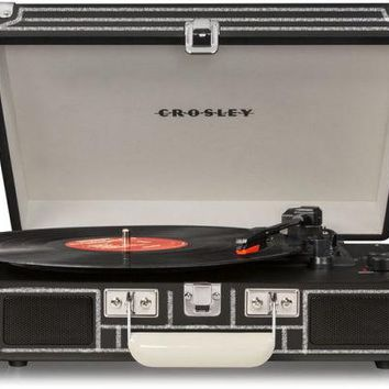 Crosley Cruiser Deluxe Retro Turntable with Bluetooth CR8005D - Scribble and Doodle in Chalk!