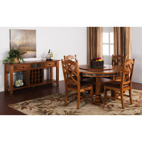 Sunny Designs Sedona Collection Six Piece Dining Set