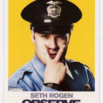 Observe and Report Seth Rogen Movie Poster 11x17