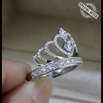 Lovers Crown Ring