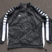Vintage Adidas Team Athletic Jacket Size L Windbreaker Track Running Yeezy Boost