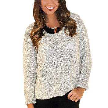 Patch It Up Sweater | MACA Boutique