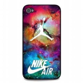 Galaxy Nike Jordan for iphone 4 and 4s case