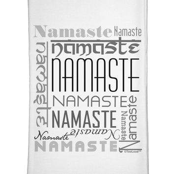 Namaste Rectangle Flour Sack Dish Towel