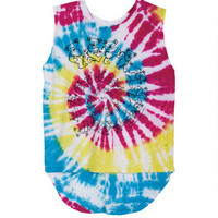 Grateful Dead Tie-Dye Muscle Tank - Multi
