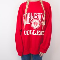 Vintage Cobleskill College University of New York Sweatshirt