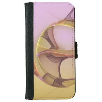 Abstract Motions Modern Fractal Art iPhone 6/6s Wallet Case
