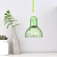 Folded Glass Pendant Light