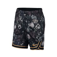 "Nike Men's Court Flex Ace 9"" Printed Floral Tennis Shorts Black"