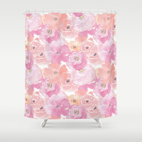 Isla Shower Curtain by sylviacookphotography