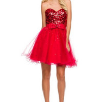 PRIMA Glitz GZ1451 Cocktail Dress - Homecoming