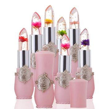 Transparent Flower Lipstick