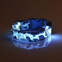"LED  ""Light "" Safety Dog / Pet Collar (S, M)"