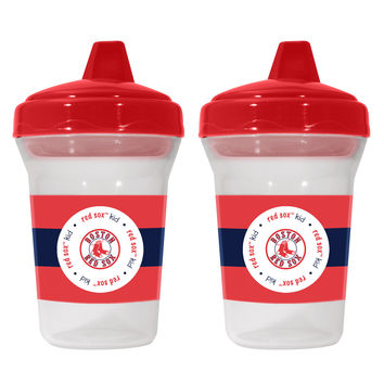 Boston Red Sox Sippy Cup 2 Pack