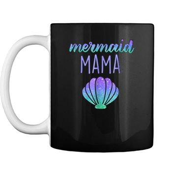Mermaid Mama Mom Mermaid Birthday Party  Mug