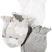 Carter's Baby Boys' 3 Pack Mittens (Baby)
