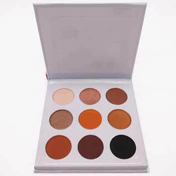 New Arrival Eyeshadow Palette 9 Colors Makeup Cosmetic Shimmer Matte Eyeshadow Palette Set Kit Make Up Palette Hot Sale M02948
