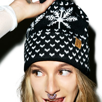 Reason A Bud Time Beanie BLACK One