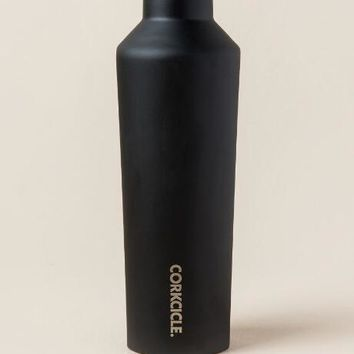 Corkcicle - Matte Black 16oz Canteen