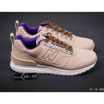 New Balance 574 limited men and women fashion sports shoes F-SSRS-CJZX Pink