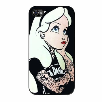 Alice Punk Alice Wonderland iPhone 4s Case