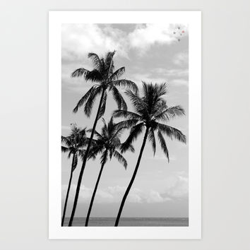 Palm Tree Paradise Art Print by Derek Delacroix