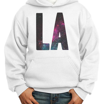 LA Galaxy Youth Hoodie Pullover Sweatshirt