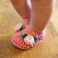 Instant Download  Crochet Pattern  Jane Marie Booties by Mamachee