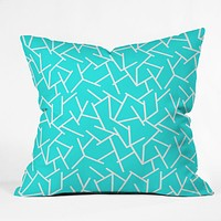 Holli Zollinger Ocean Throw Pillow