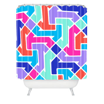 Jacqueline Maldonado Azimuth 2 Shower Curtain