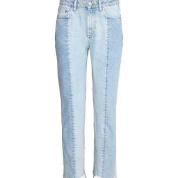 Slim Regular Ankle Jeans - from H&M