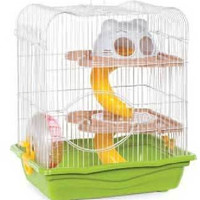 """Hamster Haven Small Cage 4pk 14""""l X 10 1/2""""w X 16""""h"""