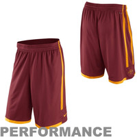 Nike Iowa State Cyclones Classics Basketball Performance Shorts - Maroon
