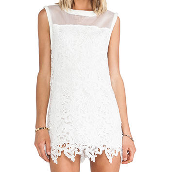 Cameo Swing Star Dress in Ivory