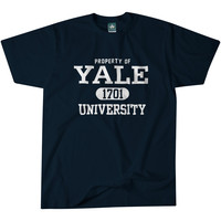 Yale Property T-Shirt (Navy)