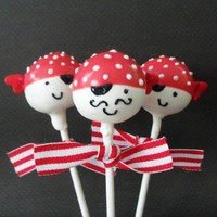 Pirate Cake Pops by EntirelySweet on Etsy